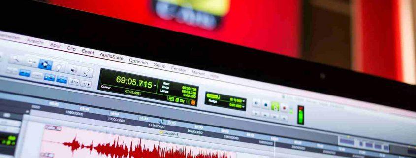 Aufnahmesoftware Pro Tools HD